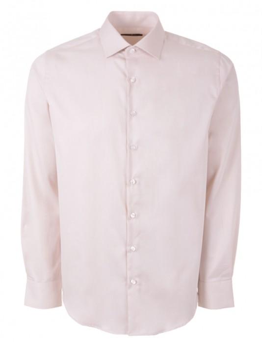 Camisa regular fit manga comprida