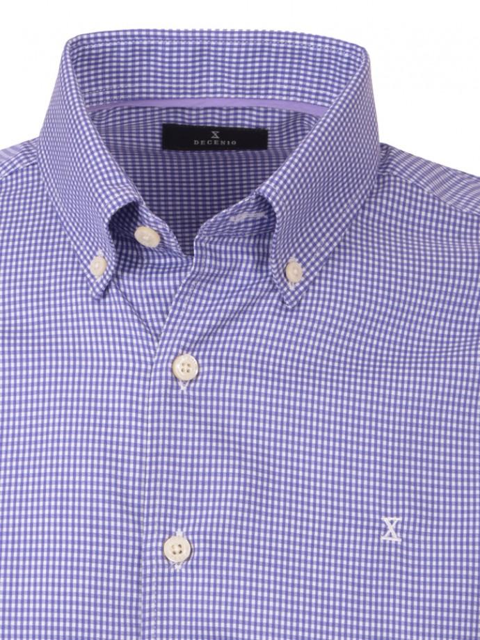 Camisa xadrez sem bolso regular fit