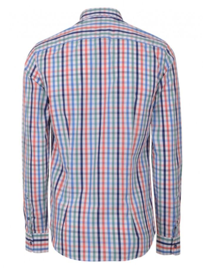 Camisa slim fit cuadros
