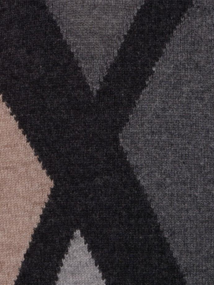 Jersey cuello pico tricolor