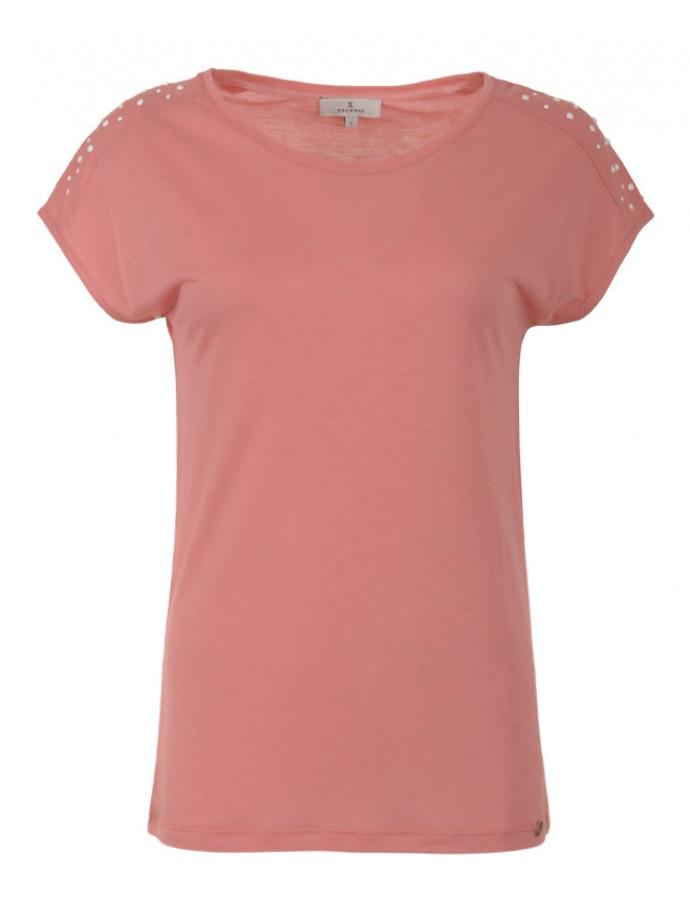 Pearls detail t-shirt