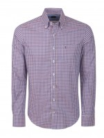 Camisa slim fit cuadros