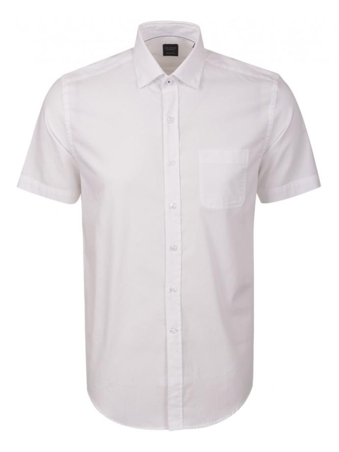 Camisa regular fit manga corta
