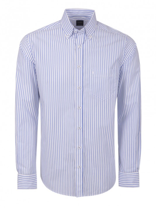 Striped regular fit shirt