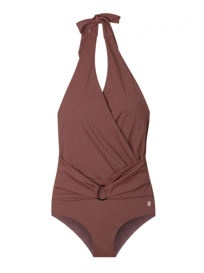 Swimsuit with belt