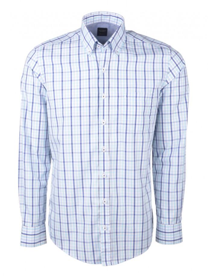 Camisa regular fit cuadros