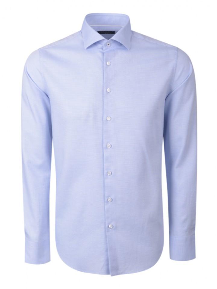 Camisa clássica slim fit micromotivos