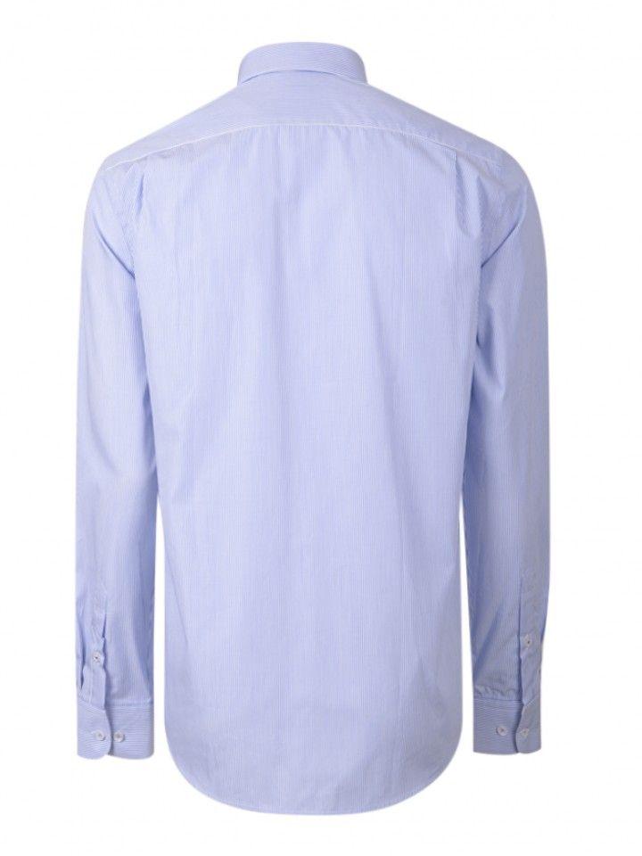 Camisa regular fit riscas