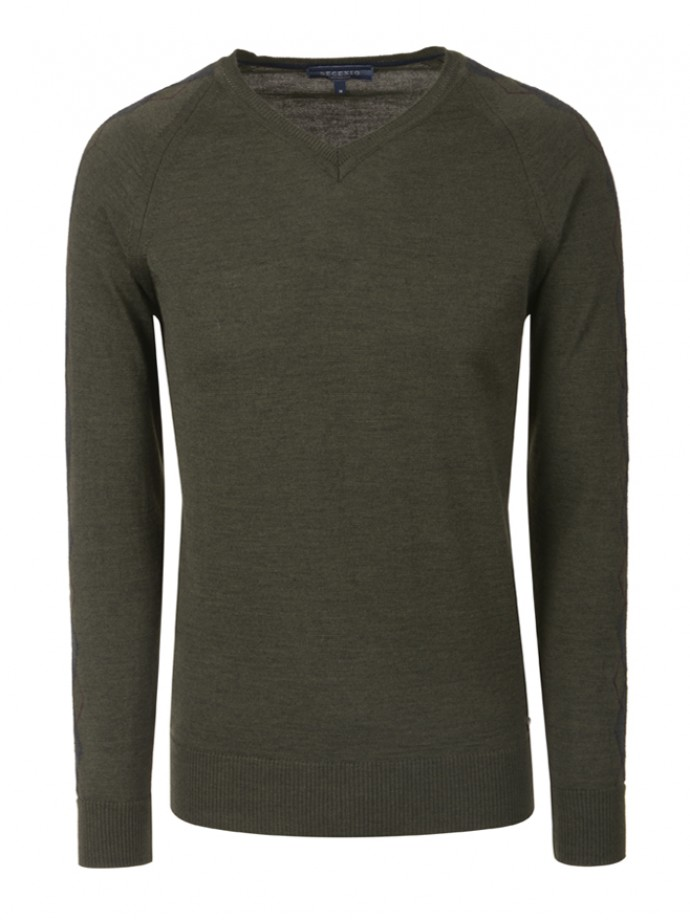 V-neck sweater