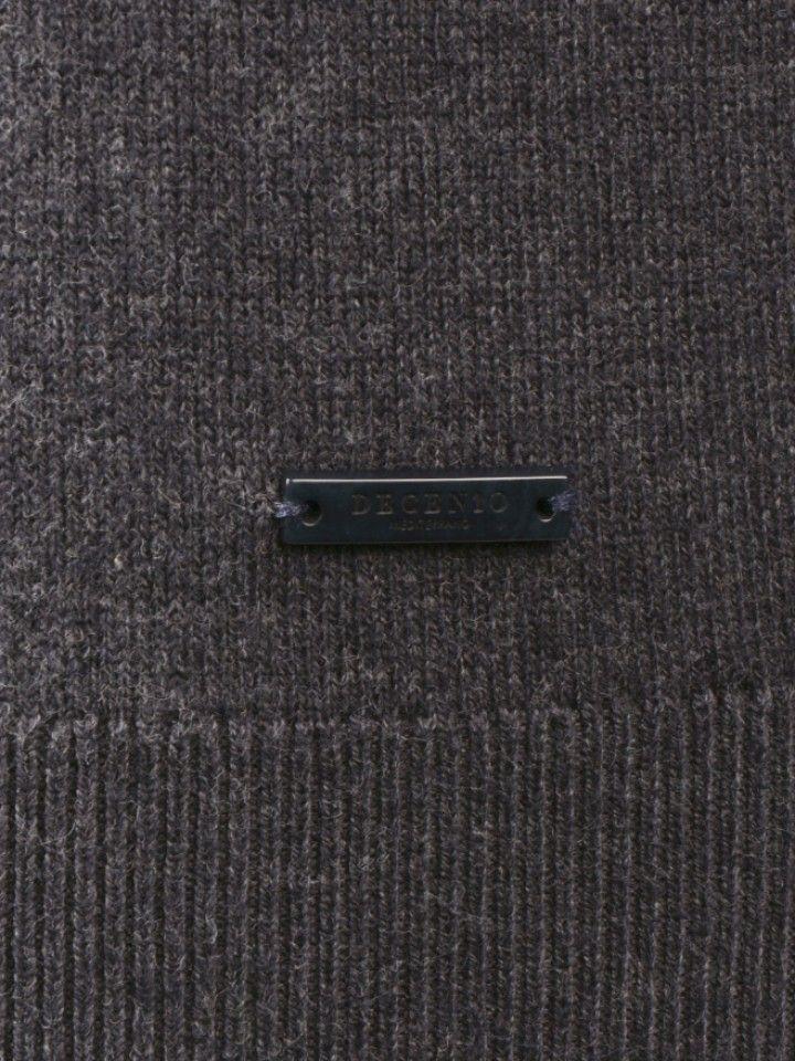 Camisola com carcela e cotoveleiras