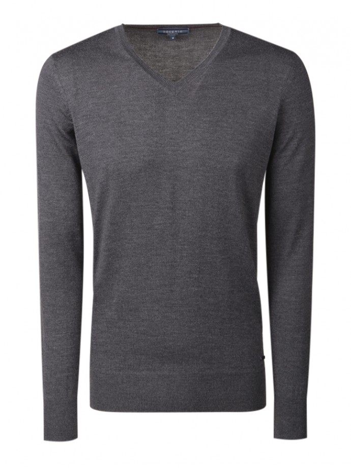 Pullover 100% lã merino