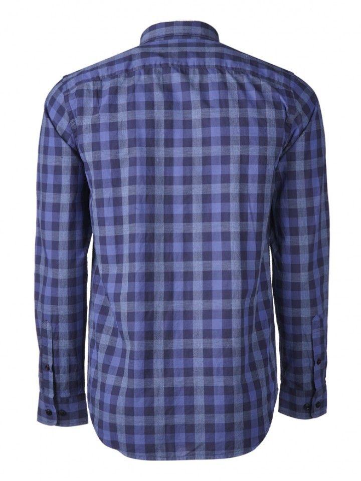 Camisa slim fit xadrez