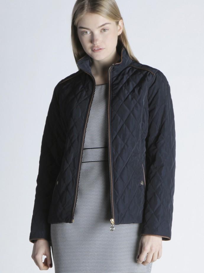 Quilted zip jacket