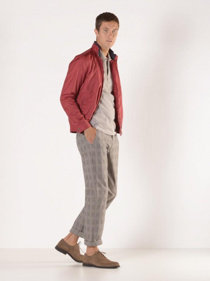 Pantalón cuadros regular fit