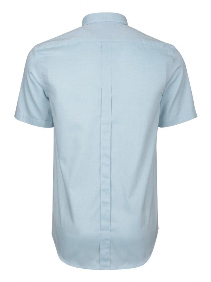 Camisa regular fit manga curta