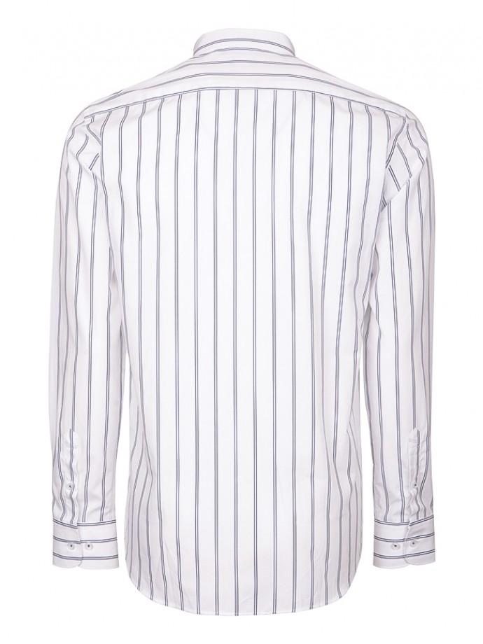 Stripped regular fit shirt
