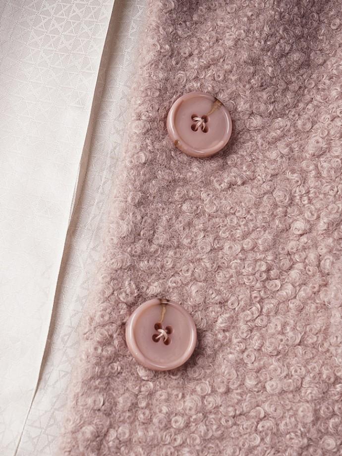 Abrigo botones