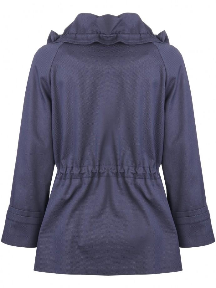 Hidden zip jacket