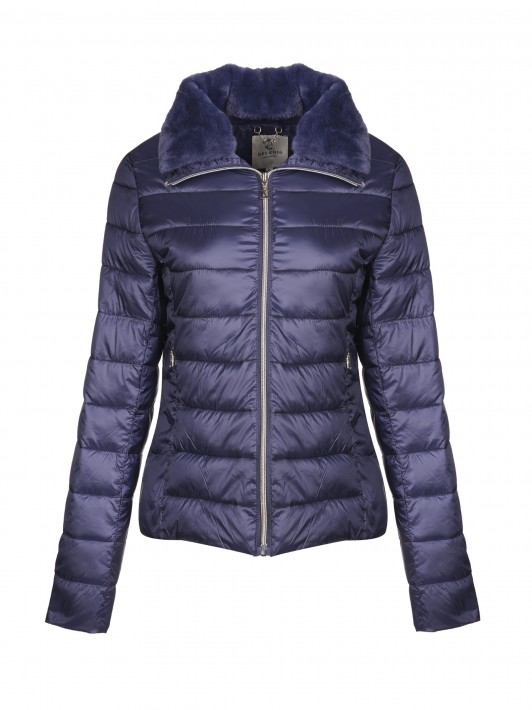 Quilted jacket with  zip