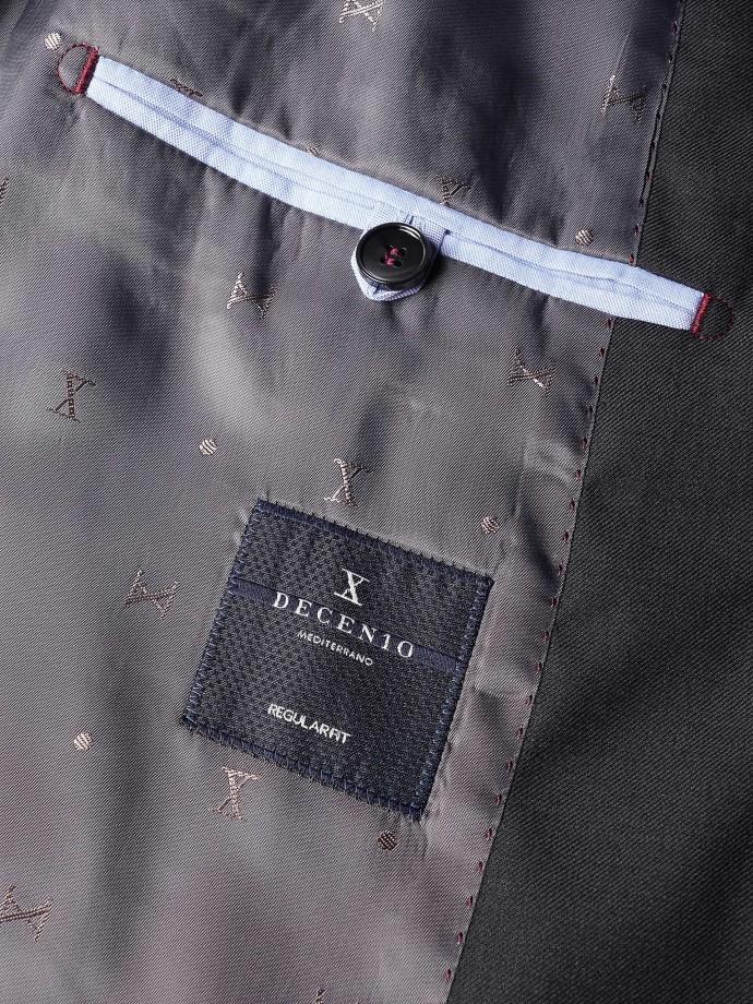 Blazer regular fit em lã