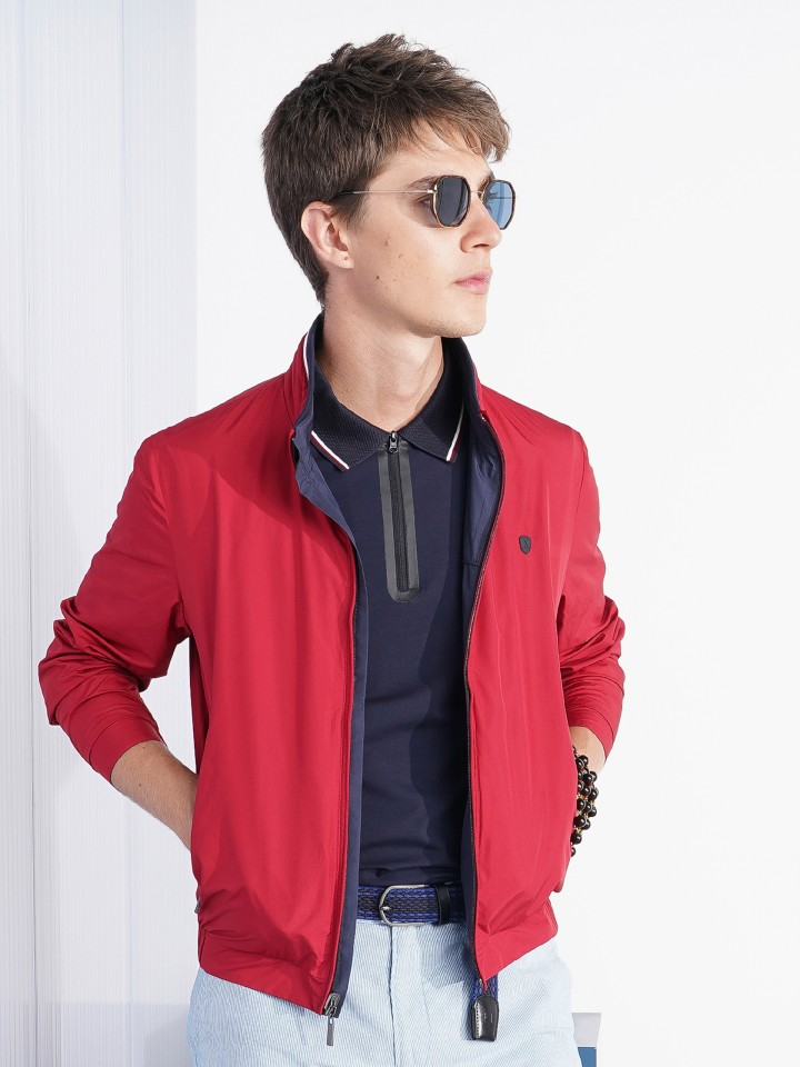 Reversible zip jacket