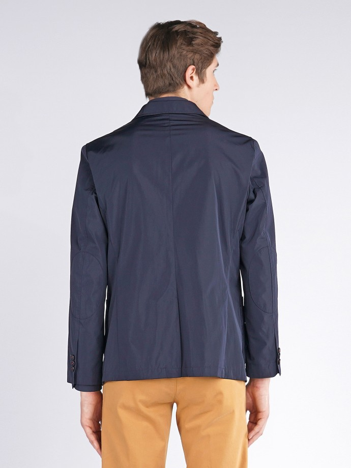 Jacket with buttons