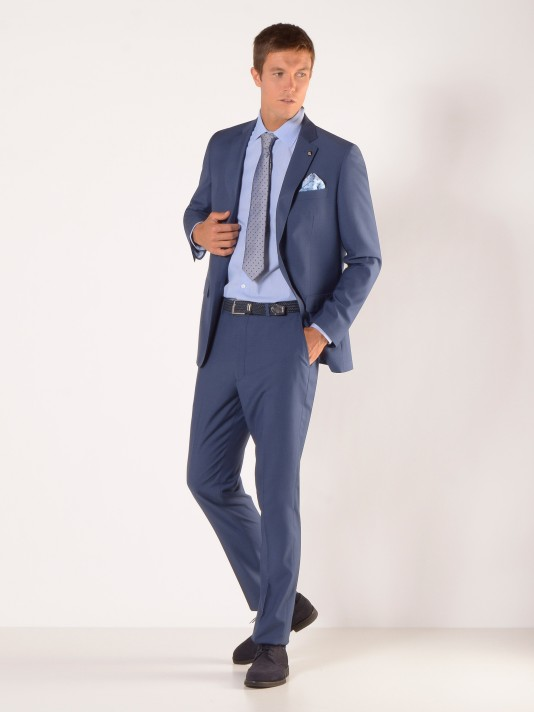 Regular fit suit