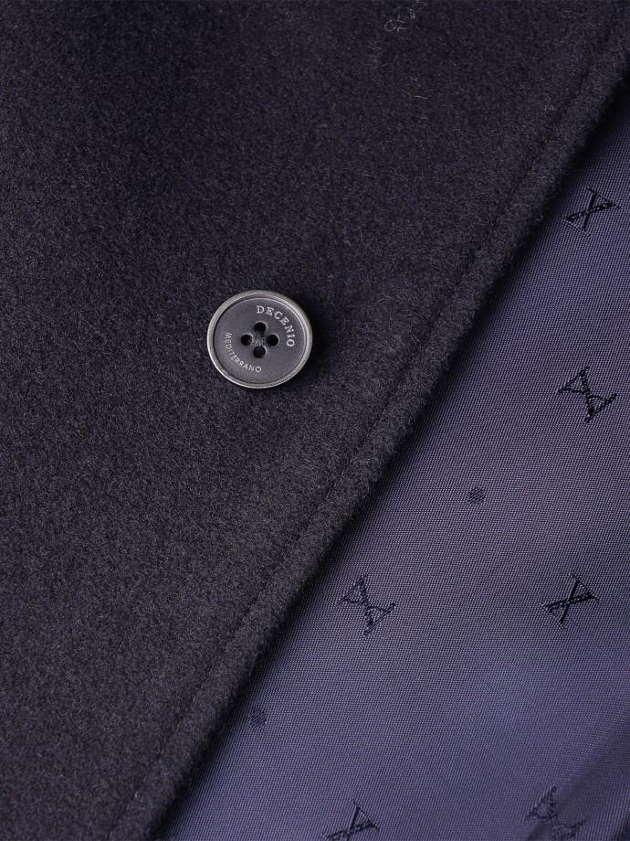 Abrigo botones ocultos
