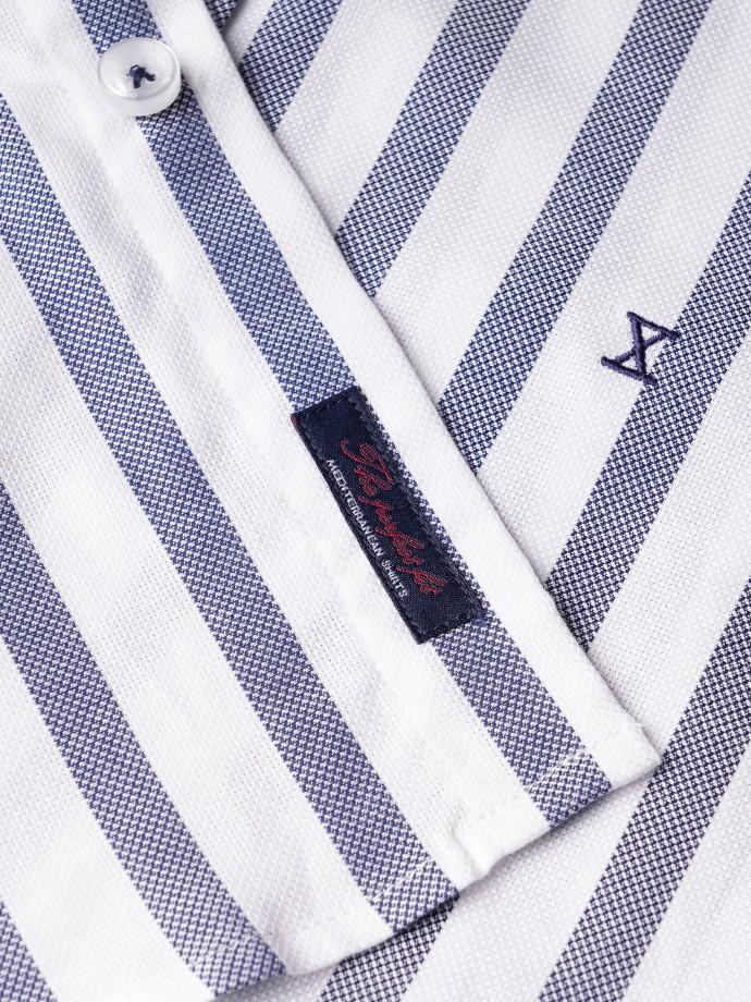 Camisa regular fit rayas