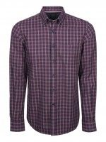 Camisa regular fit cuadros