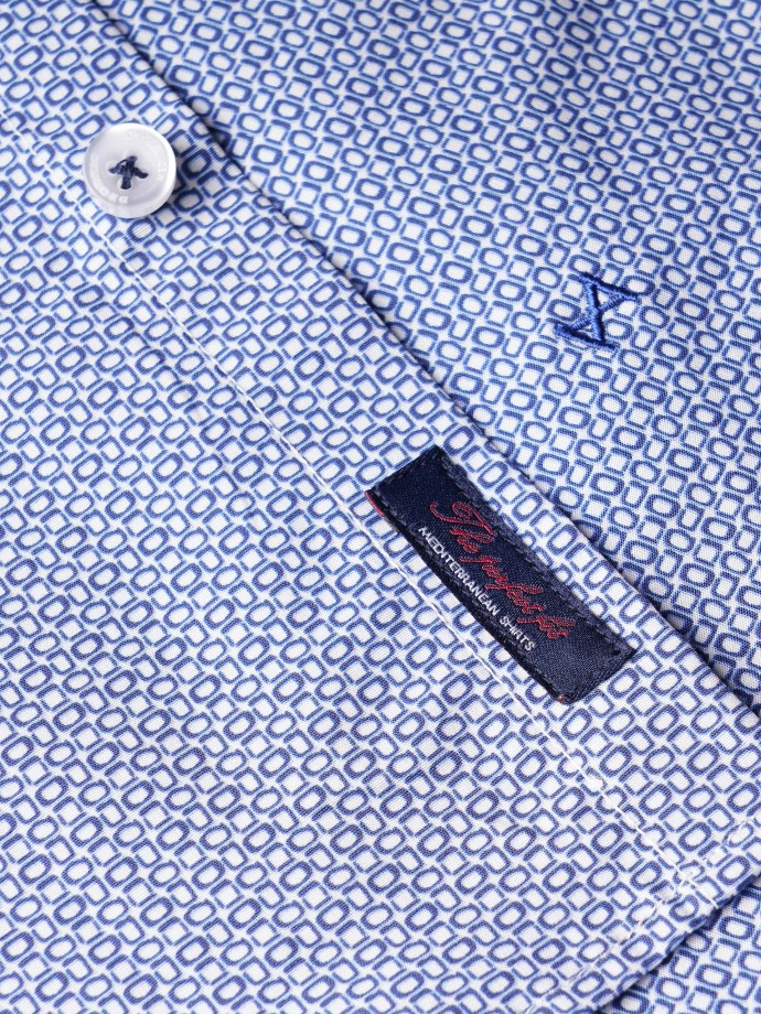 Camisa slim fit patrón