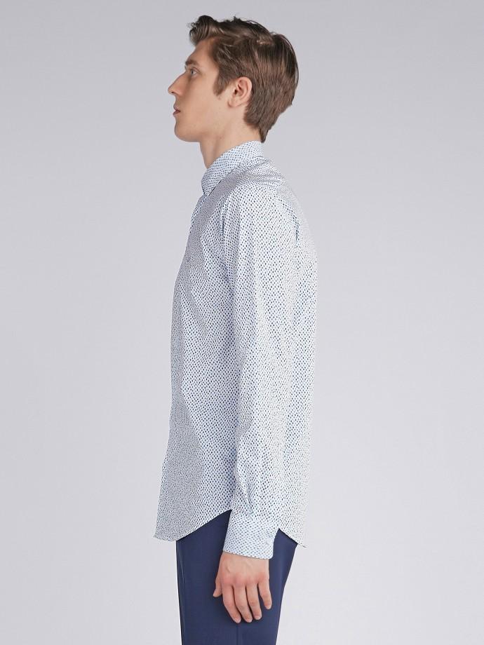Camisa slim fit padrão