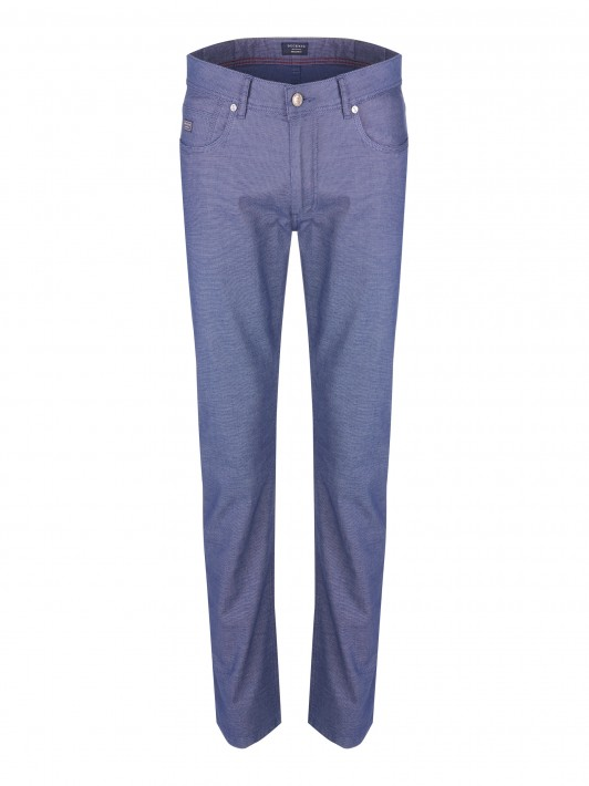 5 pocket regular fit trousers
