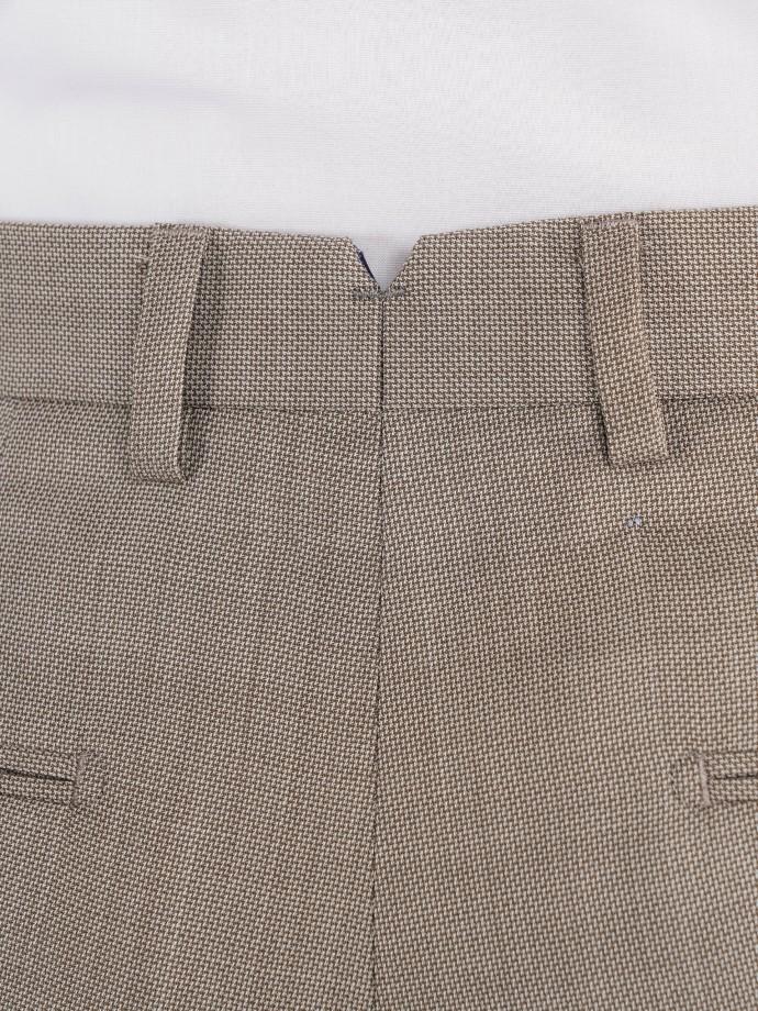 Calça chino clássica slim fit