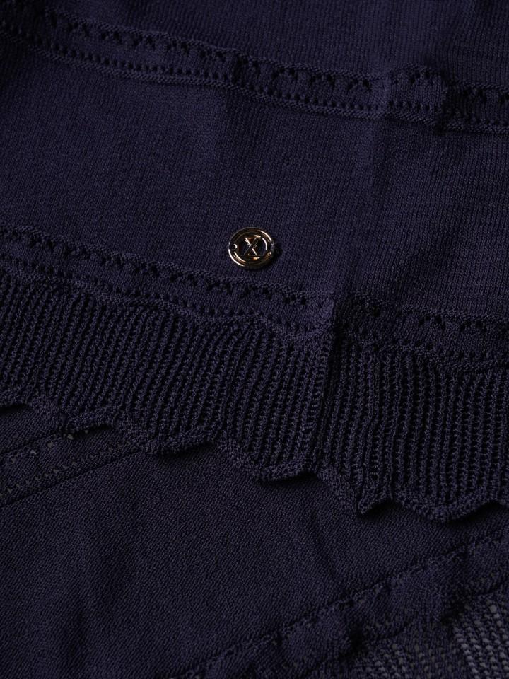 Lace knit jacket