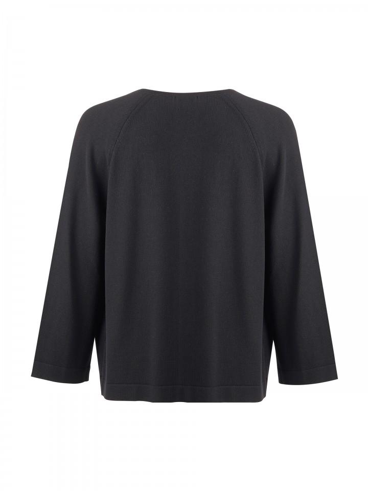 Laced knit jacket