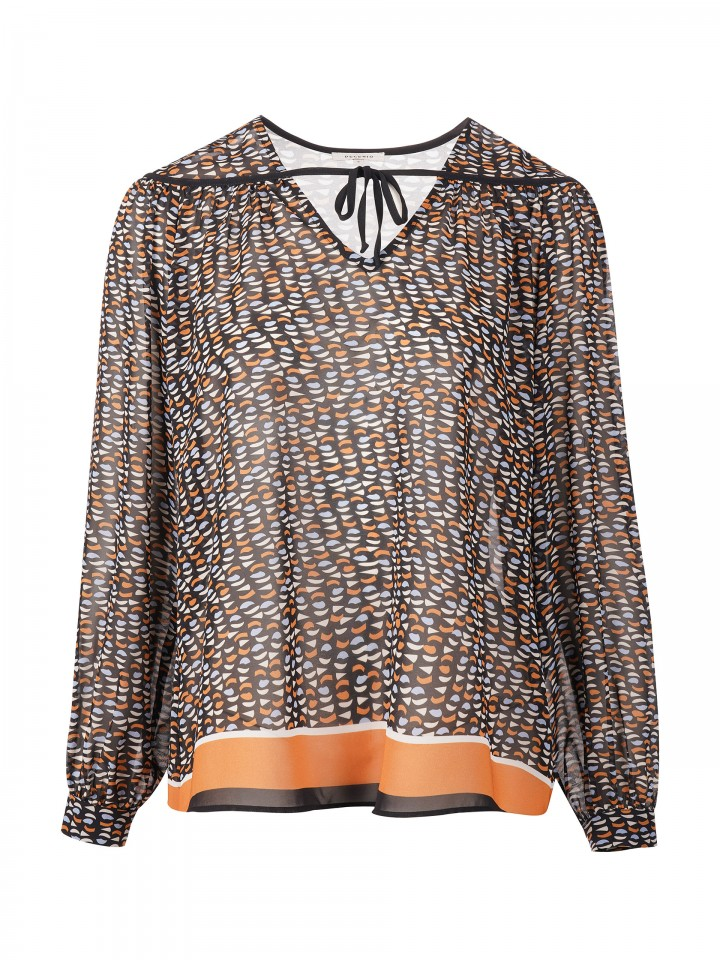 Patterned tunic