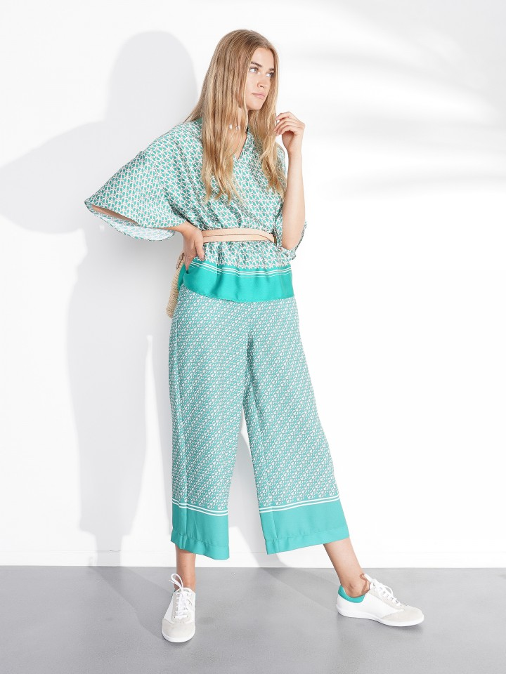 Patterned Culotte