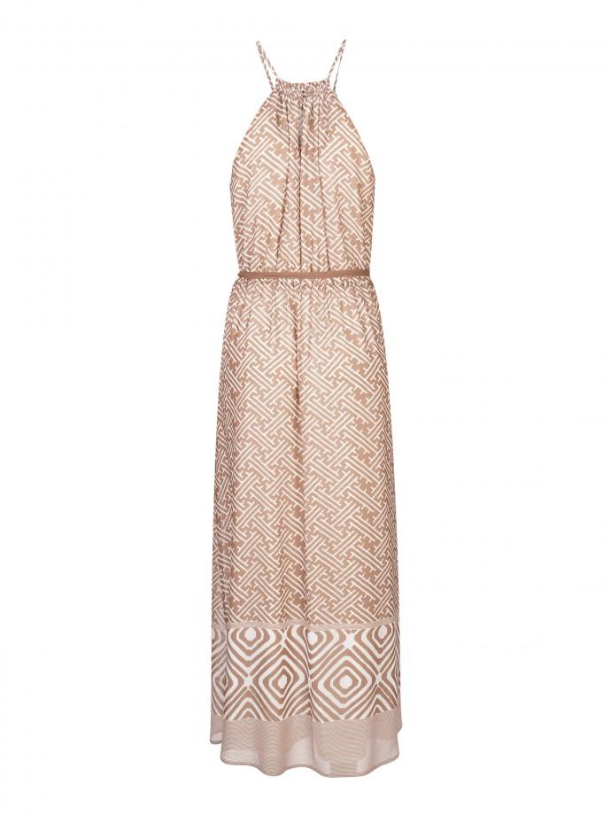 Halterneck dress