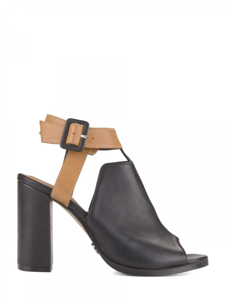Open high heels shoes