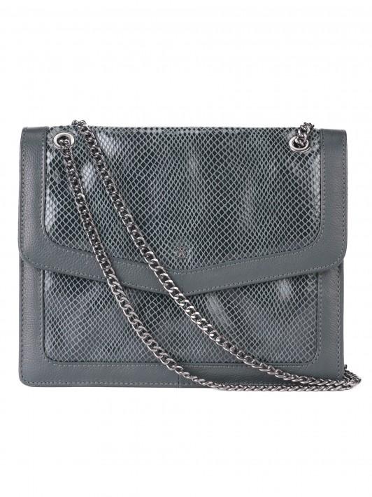 Pitón patterned bag