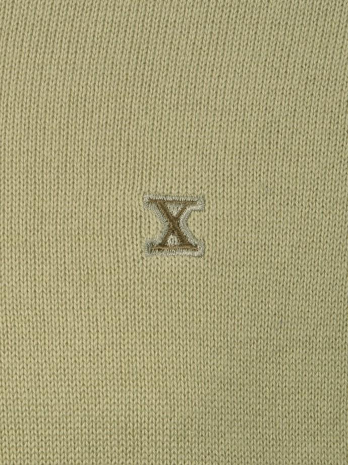 Jersey cuello pico manga larga