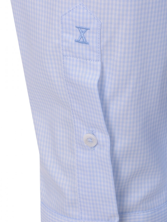 Camisa com bolso regular fit