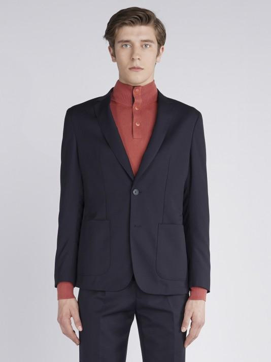Wool sport blazer