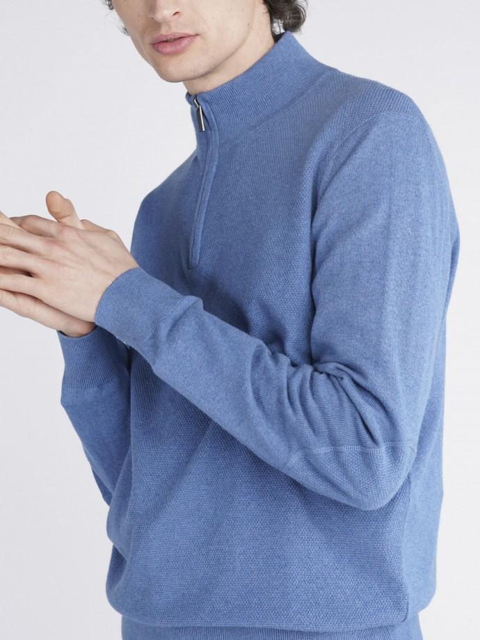 Jersey cuello medio cashmere