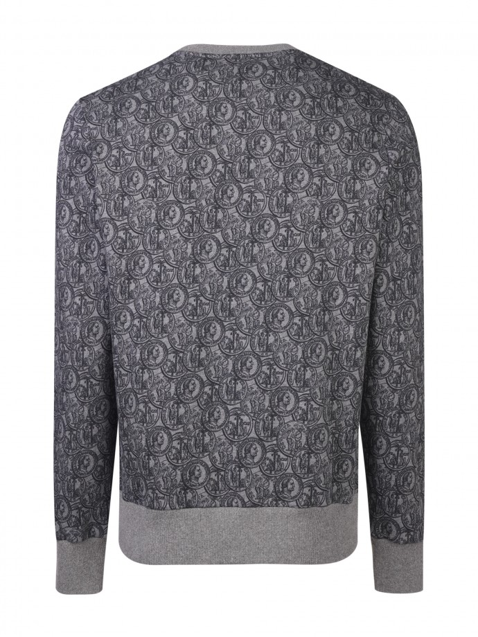 Printed sweat