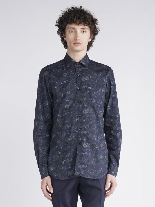 Flowers slim fit shirt