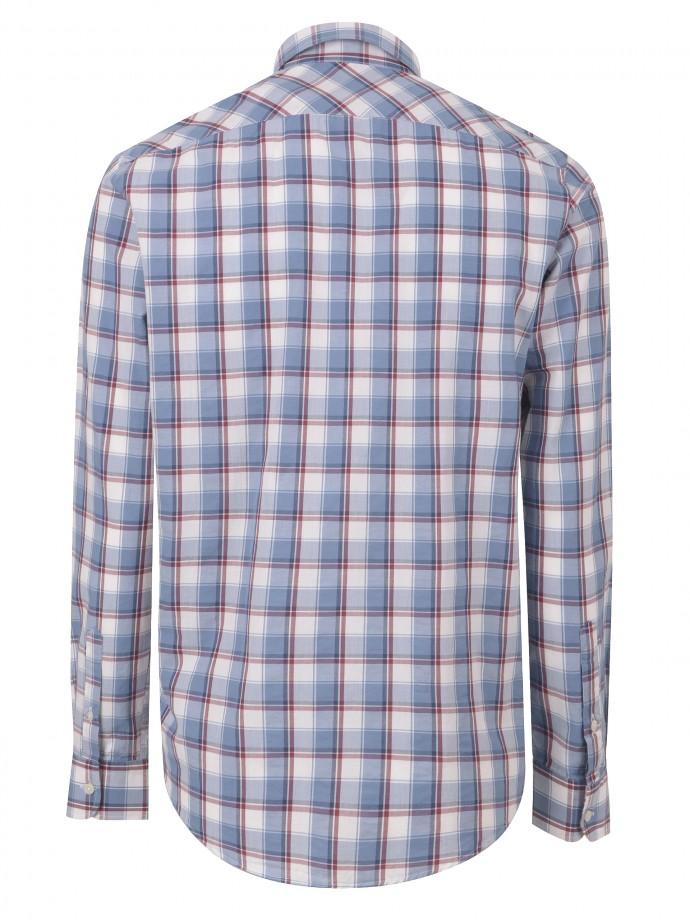 Camisa xadrez com bolso regular fit