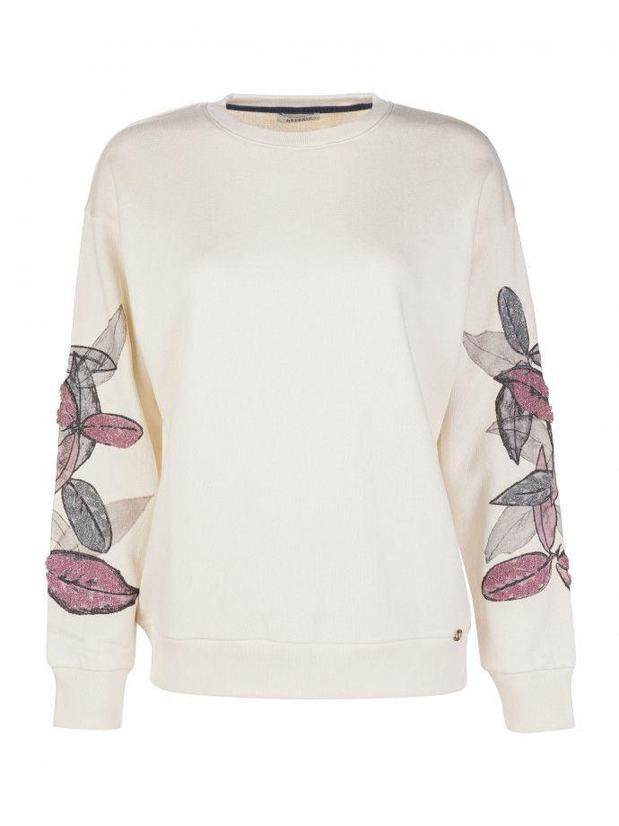 Embroidered sweat