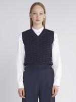 V-neck vest